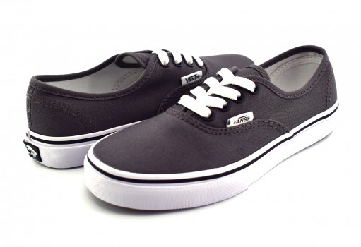 VANS WWXENY PEWTER/BLK AUTHENTIC 16