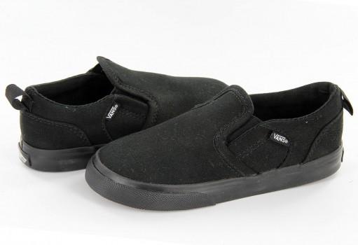 VANS XE9186 BLACK/BLACK ASHER V  09-15
