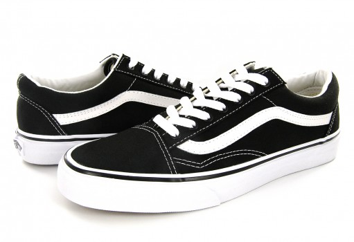 VANS ZDF1WX (CANVAS) BLACK/TRUE WHITE OLD SKOOL  21.5-31