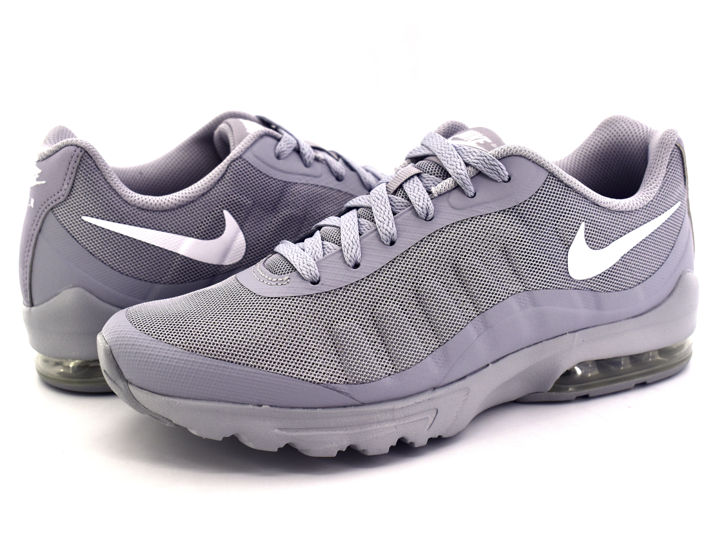 new products casual shoes nice shoes NIKE 749680 005 WOLF GREY/WHITE AIR MAX INVIGOR 25-31