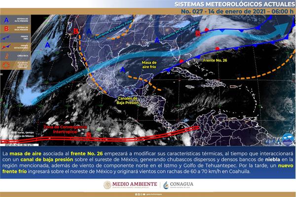 Se pronostican chubascos y lluvias en Quintana Roo