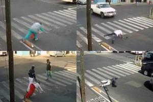 En Puebla hay una ciclovía que cualquiera que pase se cae (v...