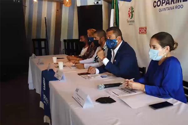 Coparmex en Cancún presenta el resultado de las reuniones con los candidatos