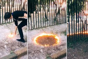 Una tendencia peligrosa en TikTok: jóvenes prenden fuego a p...