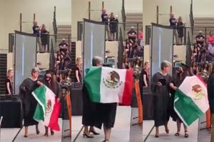 VIDEO: ¡Otra vez! Retiran a estudiante de su graduación por ...