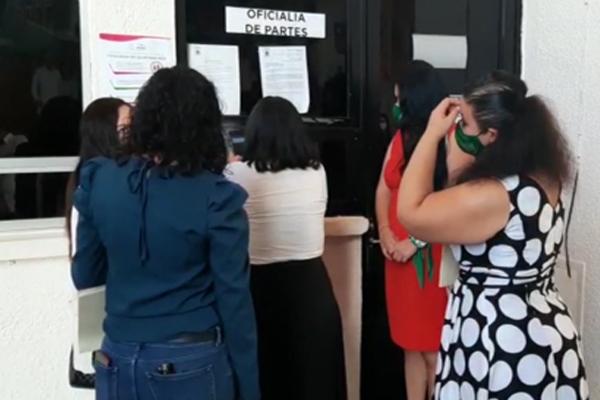 La Red Feminista Quintanarroense promueve la despenalización del aborto por segunda vez