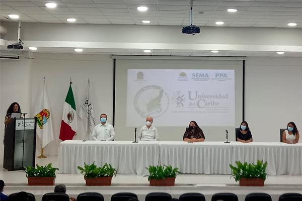 "Universidad del Caribe recibe el Distintivo ""Quintana Roo Verde"""