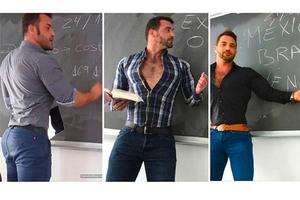 Conoce al maestro de matemáticas más sexy del mund...