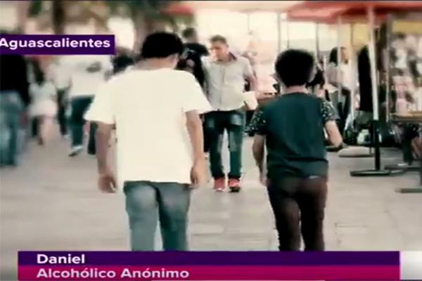 'Soy alcohólico y drogadicto', afirma niño de 12 años(VIDEO)