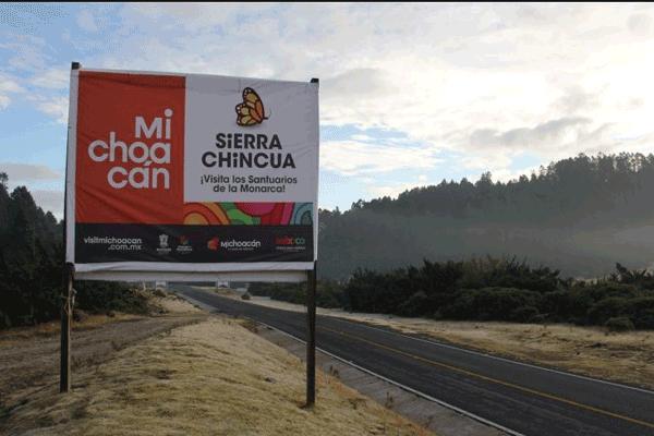 Inauguran santuarios de la mariposa monarca en el Estado de México