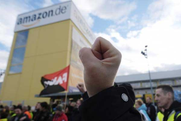 Amazon se enfrenta a huelga en Black Friday