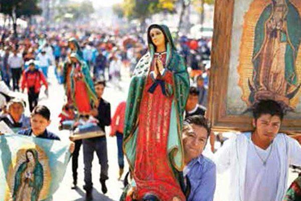 Festejan millones a la Virgen en Basílica; cantan las mañanitas en el Tepeyac