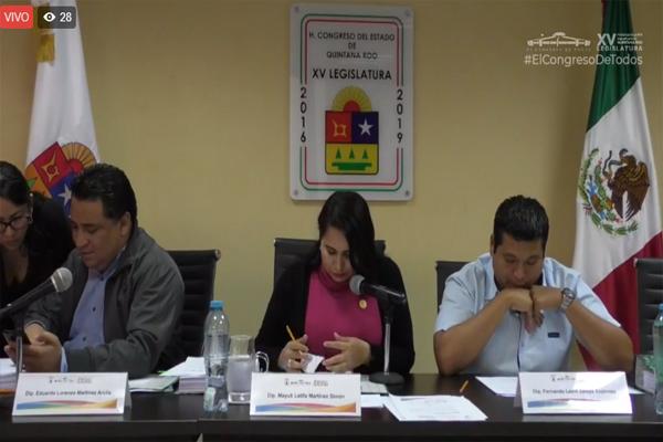 #EnVivo XV Legislatura evalúa aspirantes a ocupar cargo de magistrado