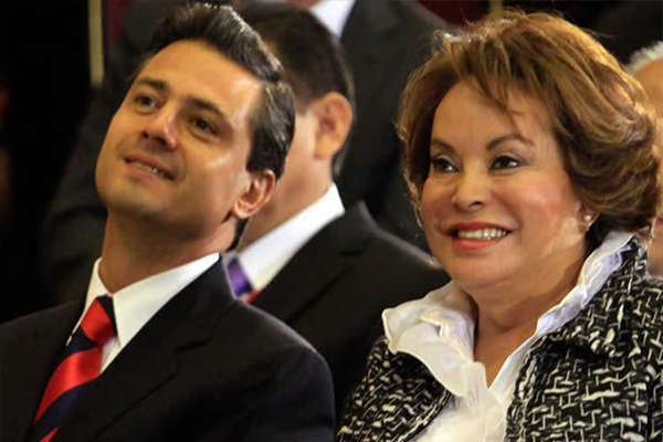 Elba Esther ya sigue proceso en su 'depa' de Polanco