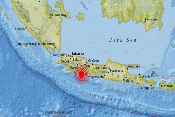Reportan sismo de 6.4 grados en Indonesia