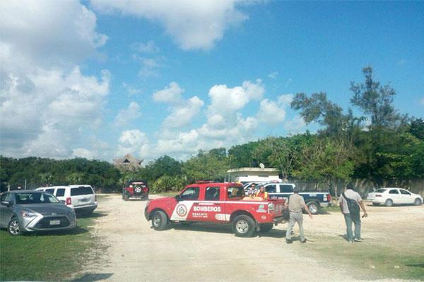 Se desploma avioneta con turistas a bordo en Playa del Carmen