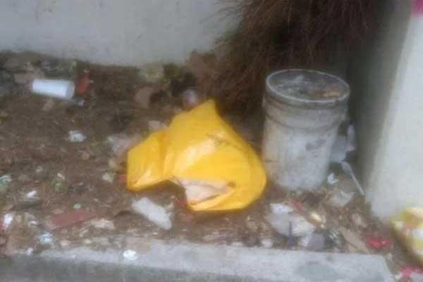 Abandonan a recién nacido en bolsa en Iztapalapa