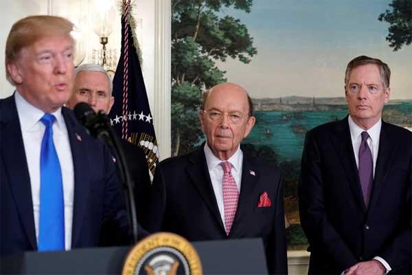 Confirma Trump aranceles a China; exige bajar el déficit
