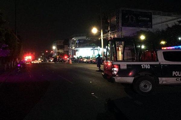 Balacera deja 12 heridos en Cuernavaca