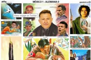 Monografía de México contra Alemania en Rusia 2018 se vuelve...