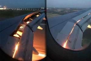 Se incendia avión que transportaba a la selección de Arabia ...