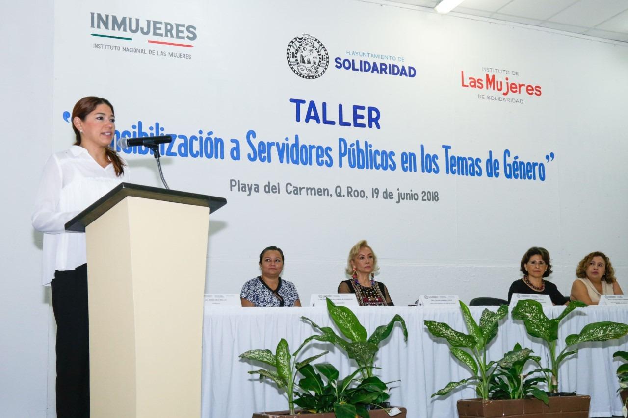 Solidaridad es el primer municipio en obtener recursos del INMUJERES