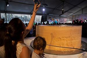 Rompen récord en Jalisco con el mazapán más grande del mundo