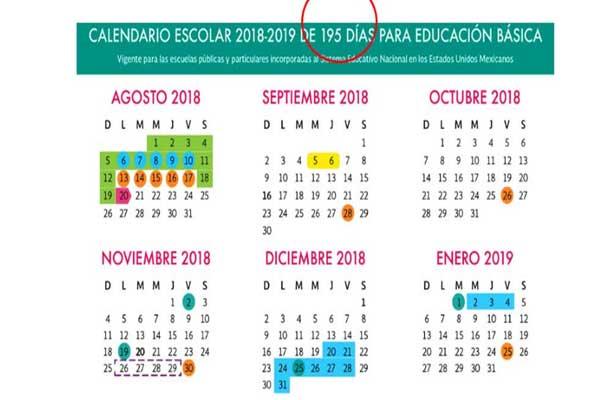¡Aquí están los fines de semana largos del ciclo escolar 2018-2019!