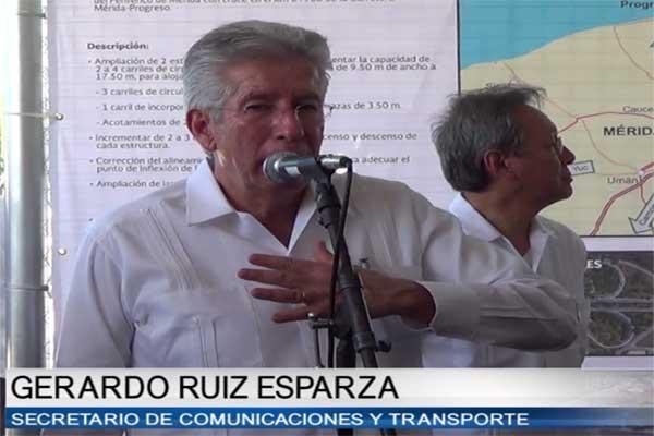 Viable el proyecto del Tren Maya: Gerardo Ruiz Esparza
