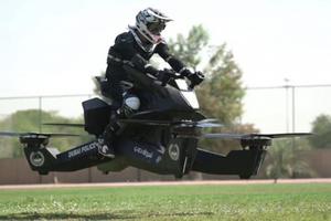 Policía de Dubái utilizará motos voladoras en 2020; así entr...