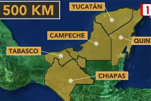 Afirma que el Tren Maya es viable ecológicamente