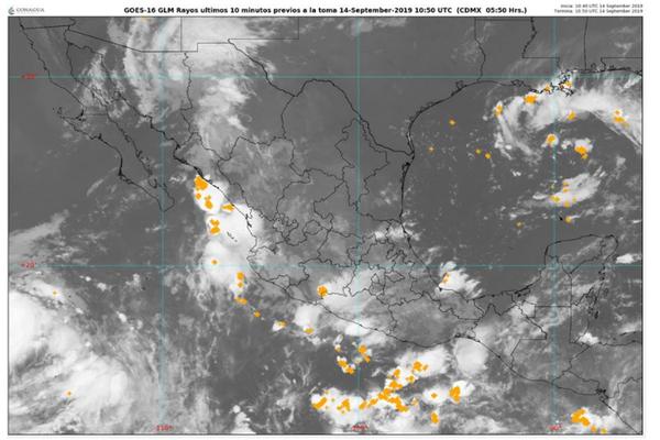 Se pronostican nubes y chubascos en Cancún y Q. Roo
