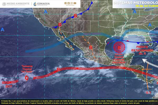 Pronóstico del clima para Cancún y Quintana Roo