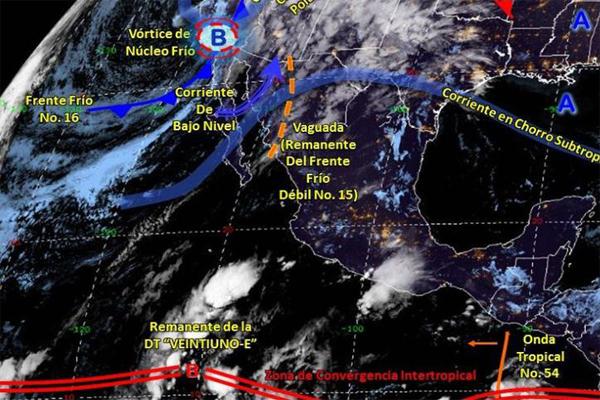 Se pronostican lloviznas en Cancún
