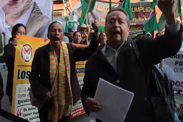 Fracasa diálogo con Diputados y campesinos amagan con boicotear desfile del 20 de Noviembre