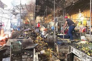 Otra vez La Merced queda en cenizas; el fuego arrasó con 800...