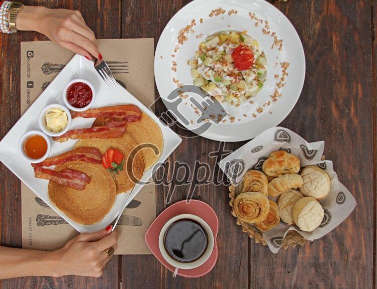 Yo y mi desayuno