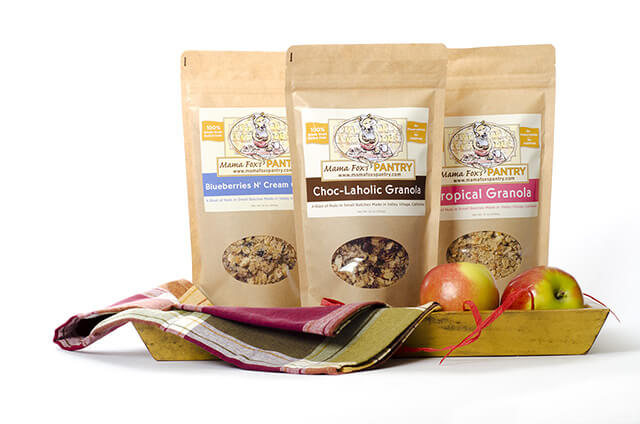 Granola Food Photography by Carrie Morgan