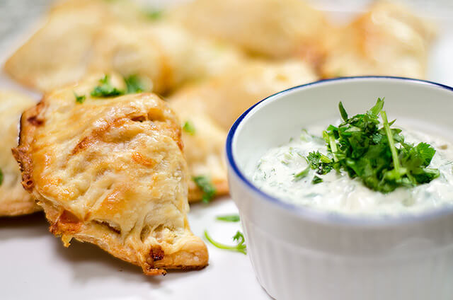 Empanada Food Photography by Carrie Morgan