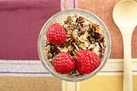 Parfait Food Photography by Carrie Morgan