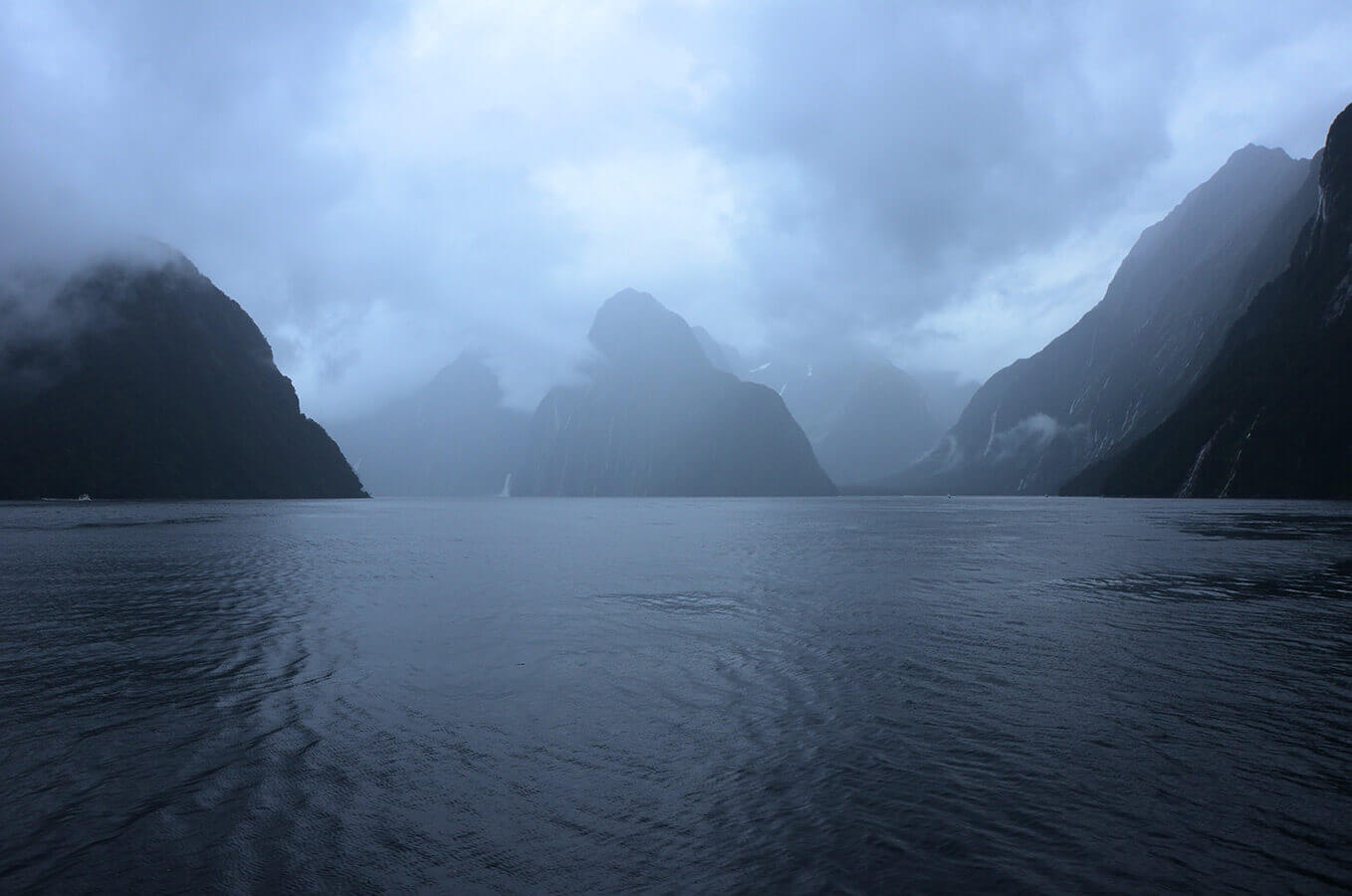 Milford Sound New Zealand by Carrie Morgan