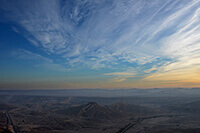 Negev Desert Israel Sunrise by Carrie Morgan