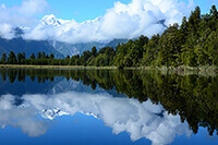 Lake Matheson New Zealand Photography by Carrie Morgan