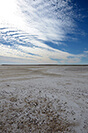 Lake Eyre Salt Flat Australia by Carrie Morgan