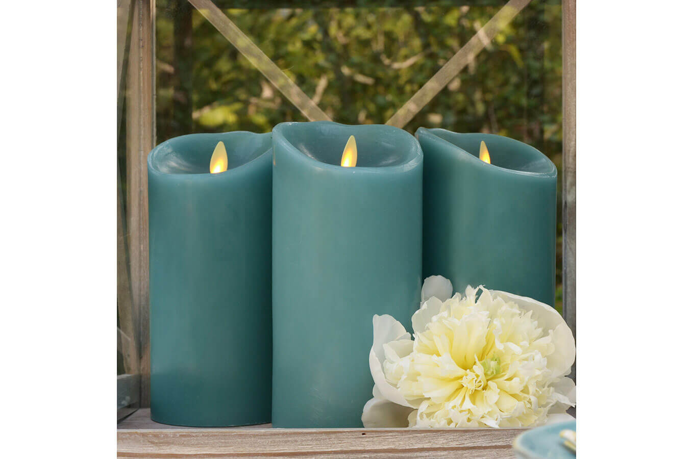 Los Angeles Product Photography Blue Candles