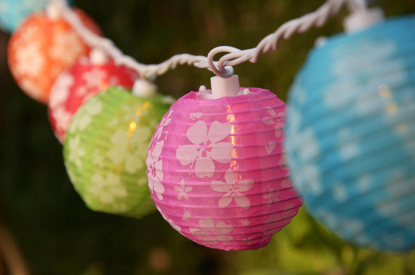 Los Angeles Product Photography China Ball String Lights