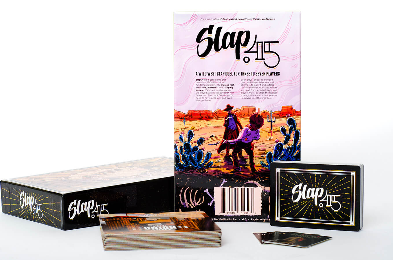 Slap 45 Board Game Product Photography by Carrie Morgan