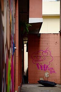 Umbrella in Brisbane Australia by Carrie Morgan