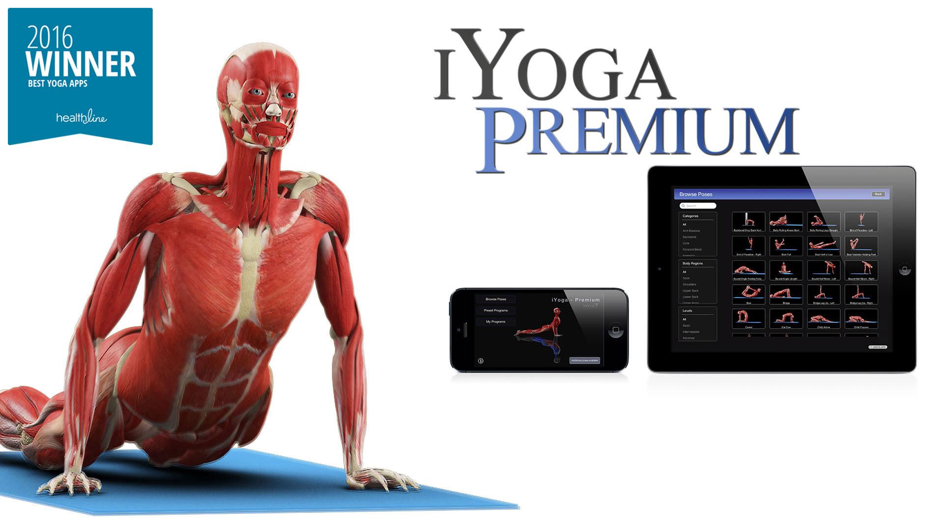 iYoga Premium banner