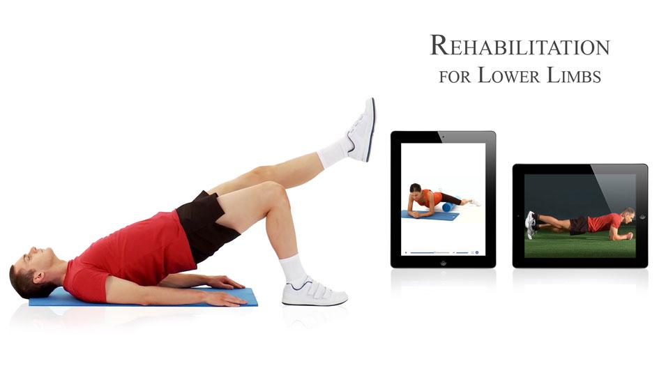 Banner Rehabilitation for Lower Limbs App